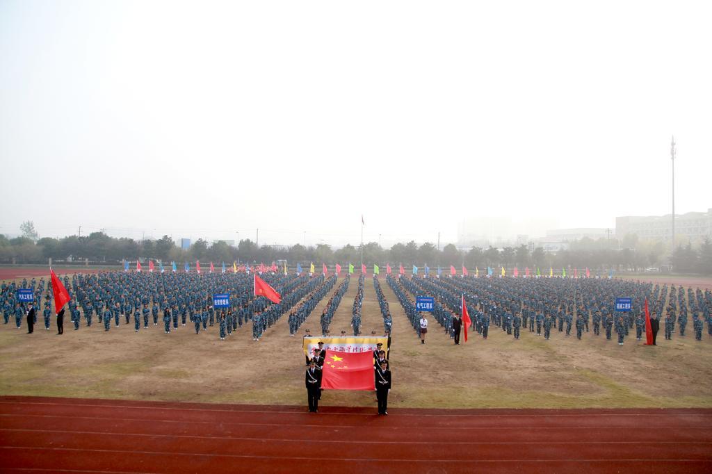 学院第十二届田径运动会隆重开幕